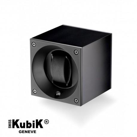 Remontoir Swiss Kubik Aluminium noir pour montre automatique